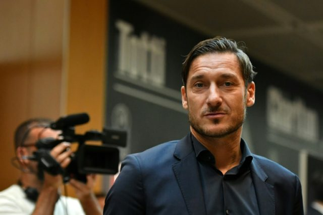 Francesco Totti remains Roma's all-time leading scorer with 307 goals