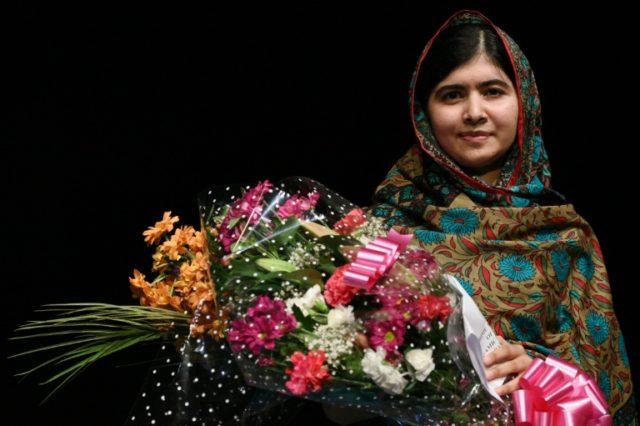 Pakistani activist Malala Yousafzai received the Nobel Peace Prize in 2014 for her work promoting children's rights