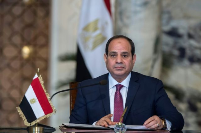 Egyptian President Abdel Fattah al-Sisi has been reelected for a second term with 92 percent of the vote, state media says citing preliminary results