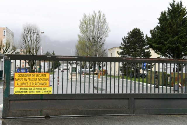 Police sealed off the area, while the army stepped up security around the barracks, which houses members of the 27th mountain infantry brigade