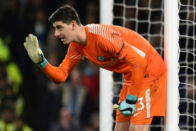 Thibaut Courtois did not feature for Belgium during the international break because of a hamstring problem