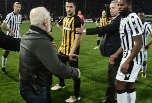 PAOK's Greek-Russian owner Ivan Savvidis has been banned for three years for storming onto the pitch with a gun in its holster