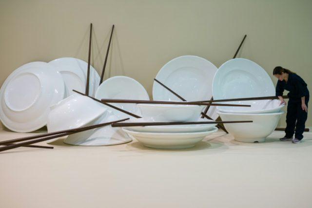 Performance art comes clean at Hong Kong's Art Basel