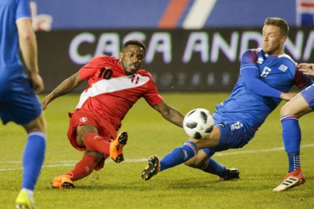 Jefferson Farfan has dashed back to Russia to appear for Lokomotiv Moscow after playing for Peru against Iceland in the United States