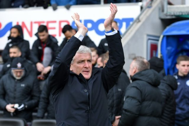 Southampton manager Mark Hughes takes the south coast side to fellow strugglers West Ham on Saturday looking for a win to help boost their relegation battle