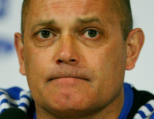 Heart attack: Former England captain Ray Wilkins pictured in 2009