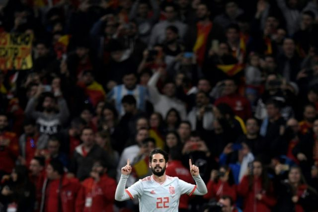 """Isco's hat-trick for Spain raised questions about his place at Real. """"He is going to stay here,"""" coach Zinedine Zidane said on Friday."""