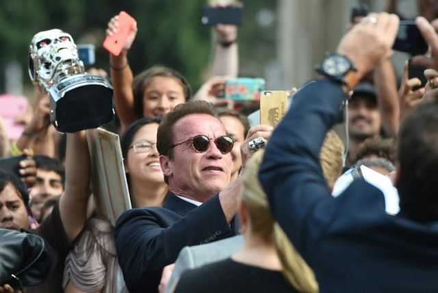 Arnold Schwarzenegger developed complications while in hospital to have a catheter valve replaced, according to reports