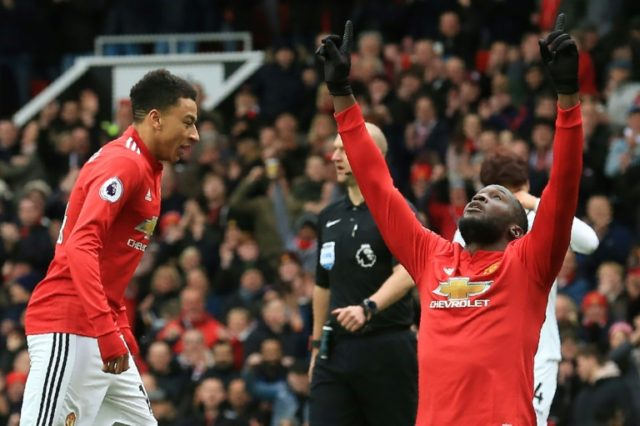 Romelu Lukaku and Jesse Lingard starred as Man United reclaimed second place in the Premier League from Liverpool