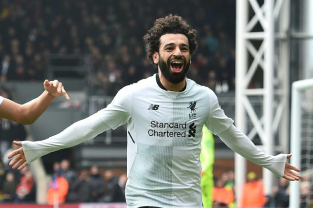 Salah has scored 37 goals this season for Liverpool.