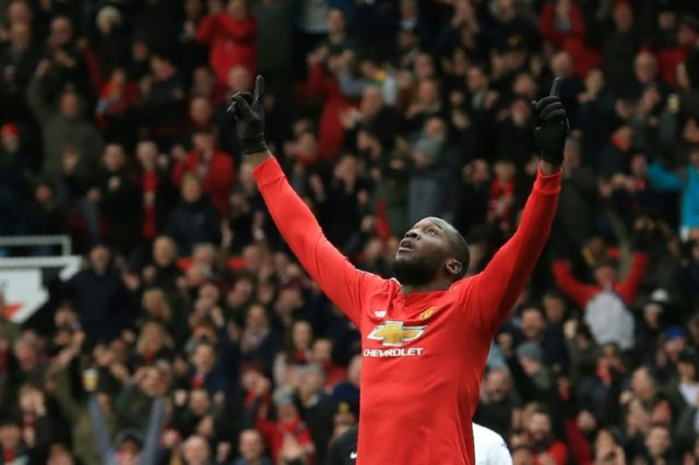 100 up: Manchester United's Romelu Lukaku reaches a century of Premier League goals in the 2-0 win over Swansea