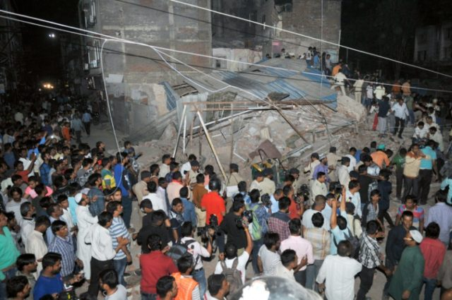 Images from the scene in Indore showed battered and bloodied corpses being pulled from twisted piles of brick and concrete