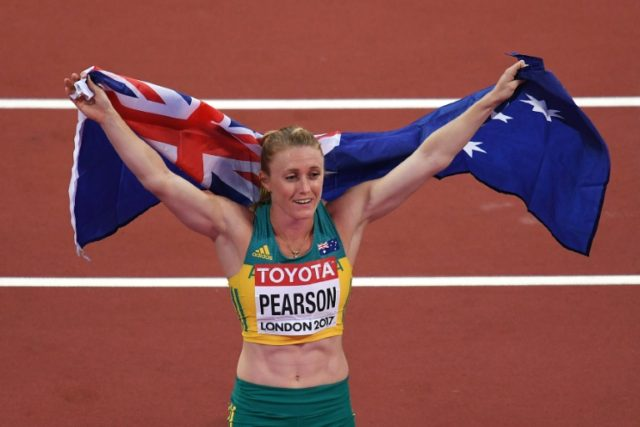 Australia's Sally Pearson hasn't raced over the hurdles since early March but is targeting the 100-metres hurdles heats on April 12 at the Gold Coast Commonwealth Games