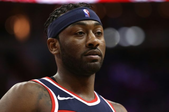 All-star John Wall was appearing his first game in two months for the Wizards who clinched their fourth playoff berth in the last five seasons
