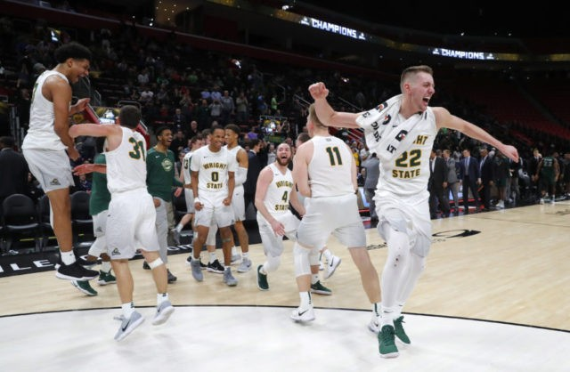 Wright State tops Cleveland St 74-57, earns NCAA Tourney bid