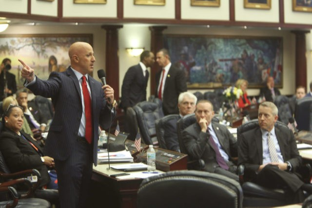Gun legislation passes Florida House, goes to governor