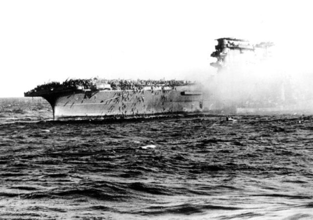 WWII aircraft carrier found in Coral Sea by Allen expedition