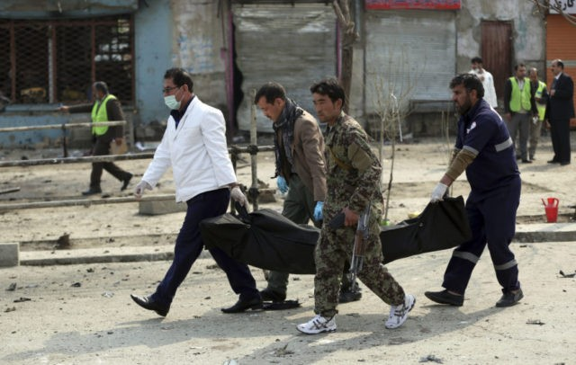 The Latest: Afghan attacks kill 9 in Kabul, 16 in province