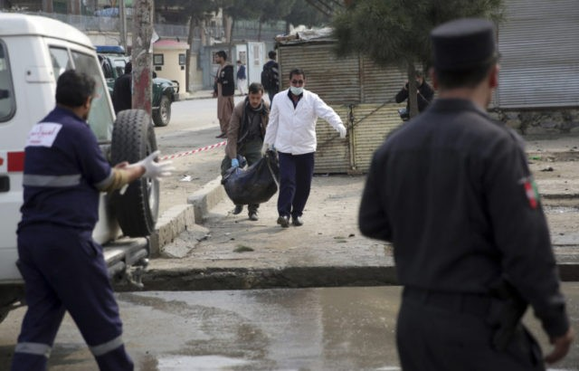 Suicide bomber kills 9 in Kabul; Taliban kill 16 in province