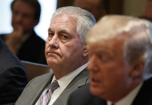 Donald Trump calls Rex Tillerson 'dumb as a rock'