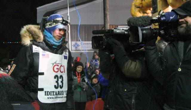 Norwegian musher wins Iditarod sled dog race in Alaska
