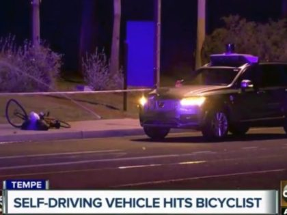 Pedestrian killed by self-driving Uber vehicle in Arizona
