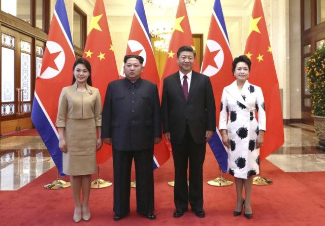 Kim Jong Un, Xi Jingping