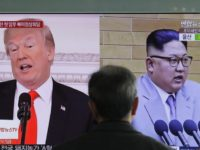 South Korea North Korea Nuclear Site In this March 27, 2018 file photo, A man watches a TV screen showing file footages of U.S. President Donald Trump, left, and North Korean leader Kim Jong Un, right, during a news program at the Seoul Railway Station in Seoul, South Korea. Increased …