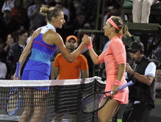Isner, Azarenka advance at Miami Open