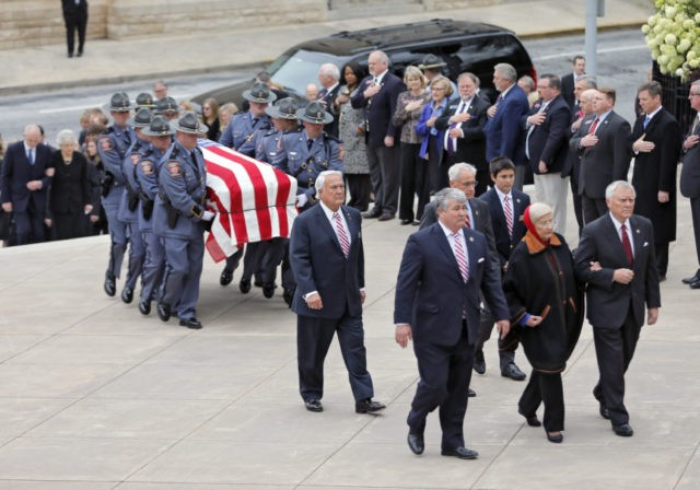Zell Miller honored during state funeral at Georgia Capitol