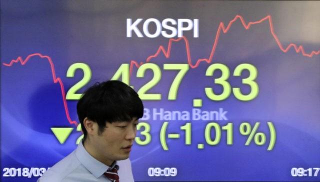 Global stock markets sink, slammed by tech losses
