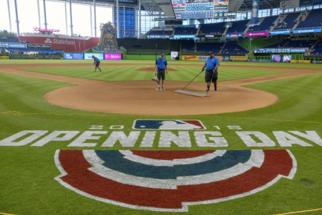 Miami Marlins Home Opener