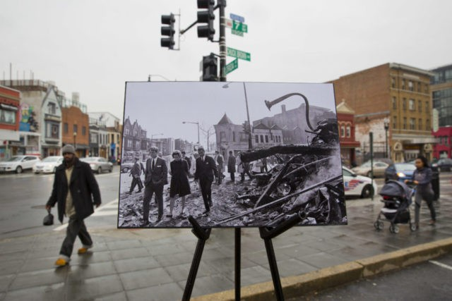 AP PHOTOS: Washington then and now, 50 years after MLK riots