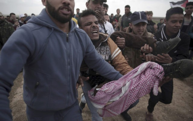 6 Palestinians killed by Israel fire on Gaza border