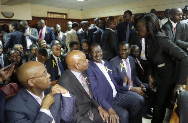 Deported Kenyan opposition figure says 'marooned' in Dubai