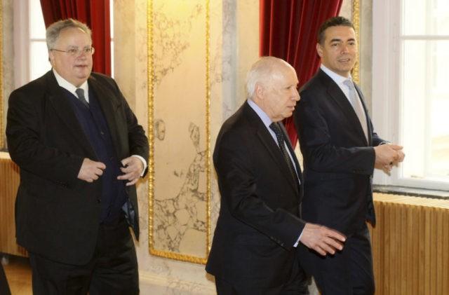Greece, Macedonia seek to resolve name dispute in Vienna