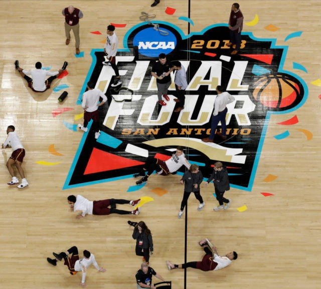 NCAA Latest: Michigan, Loyola-Chicago tip off at Final Four