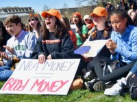 Teens Rail Against GOP, NRA at School Walkout Protest