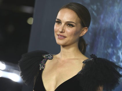 "Natalie Portman arrives at the Los Angeles premiere of ""Annihilation"" at the Regency Village Theatre on Tuesday, Feb. 13, 2018. (Photo by Jordan Strauss/Invision/AP)"