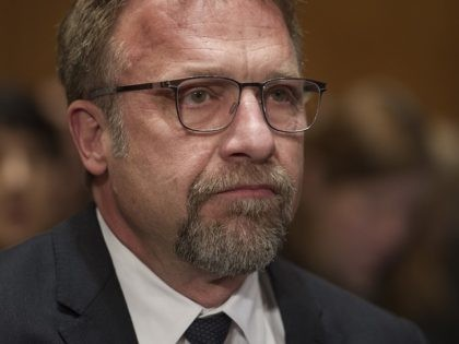 Backpage.com CEO Carl Ferrer appears on Capitol Hill in Washington, Tuesday, Jan. 10, 2017, before the Senate Homeland Security and Governmental Affairs Permanent subcommittee on Investigations hearing into Backpage.com knowing facilitation of online sex trafficking. (AP Photo/Cliff Owen)