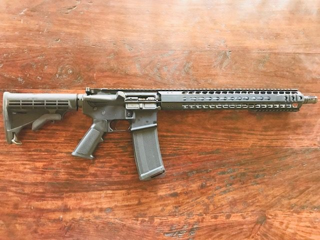AR-15 build project