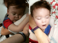 Claim: Baby Alfie Breathing on His Own After Being Removed from Life Support