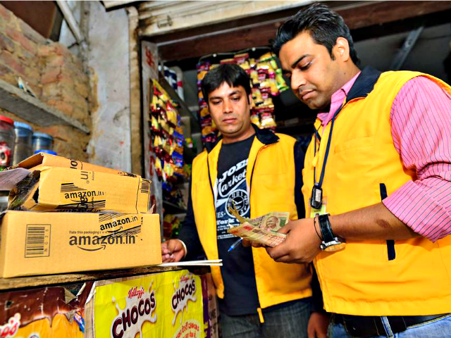 Amazon Indian Workers