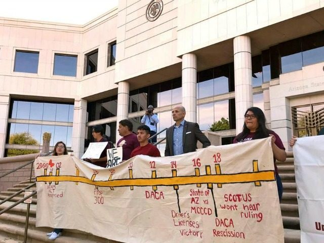 AZ Ends In State Tuition for DACA Recipients After Unanimous State Sup. Ct. Ruling					by Tony Lee9 Apr 20180		9 Apr 2018		9 Apr 2018