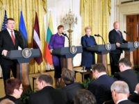 Baltic Presidents, Trump