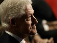 Former President Bill Clinton waits for the third debate between Democratic presidential nominee Hillary Clinton and Republican presidential nominee Donald Trump during the third presidential at UNLV in Las Vegas, Wednesday, Oct. 19, 2016. (AP Photo/Patrick Semansky)