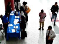Black workers seek jobs