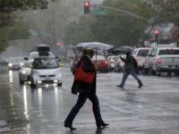 California rain (Marcio Jose Sanchez / Associated Press)