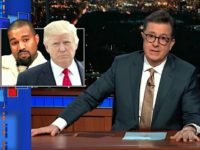 Nolte: Stephen Colbert Leads Social Justice Mob Against Kanye West