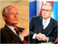 Collage of Bill Kristol and Keith Olbermann